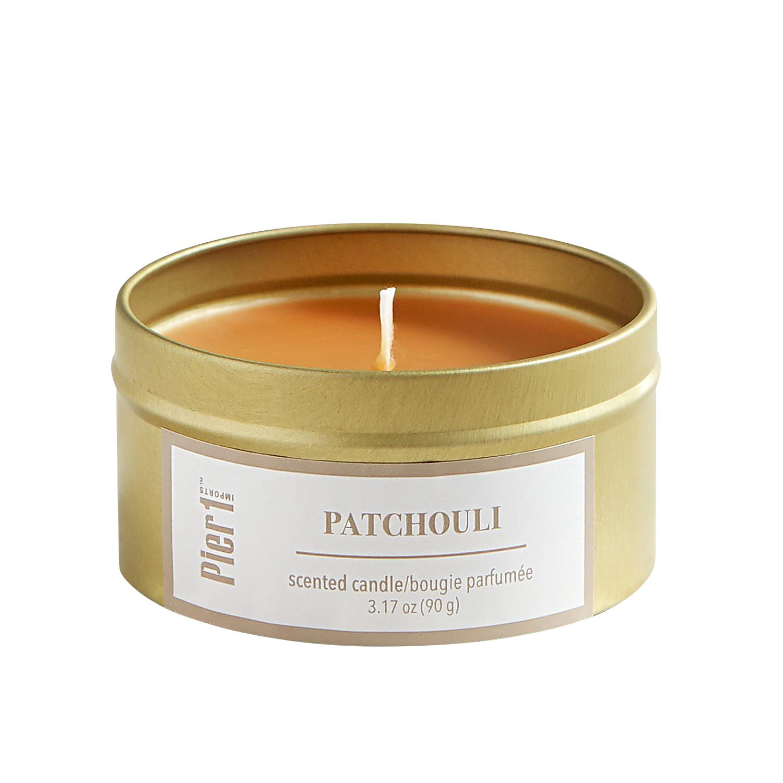 Patchouli Travel Candle