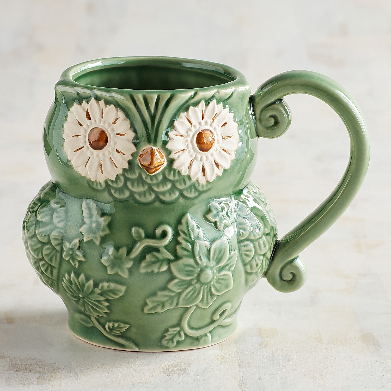 Reactive Owl Mug