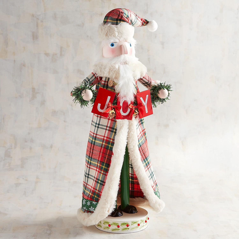"Joy Santa 21"" Nutcracker"