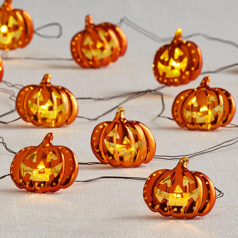 10' Jack O' Lantern Glimmer Strings®