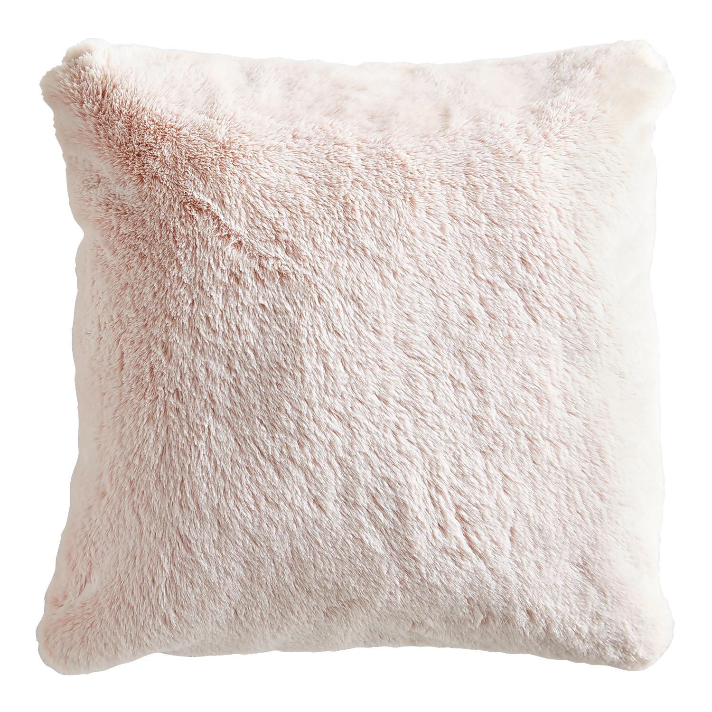 Faux Fur Lynx Blush Pillow