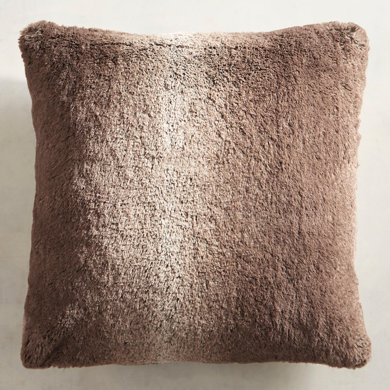 Faux Fur Mink Ombre Pillow