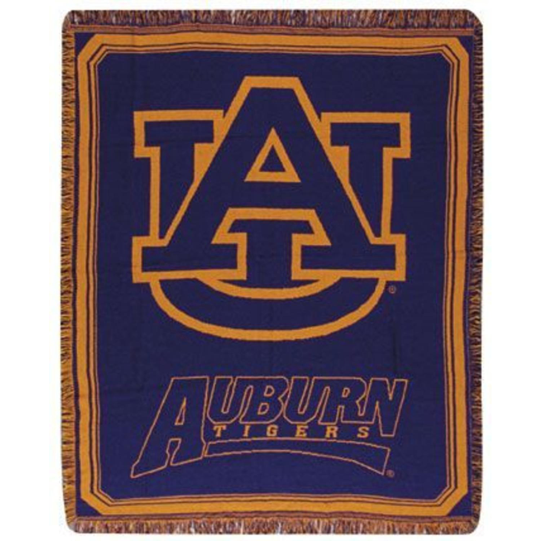 Auburn University Tigers Afghan Throw