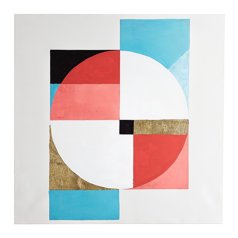 EWall Arth Tone Kaleidoscope Wall Art