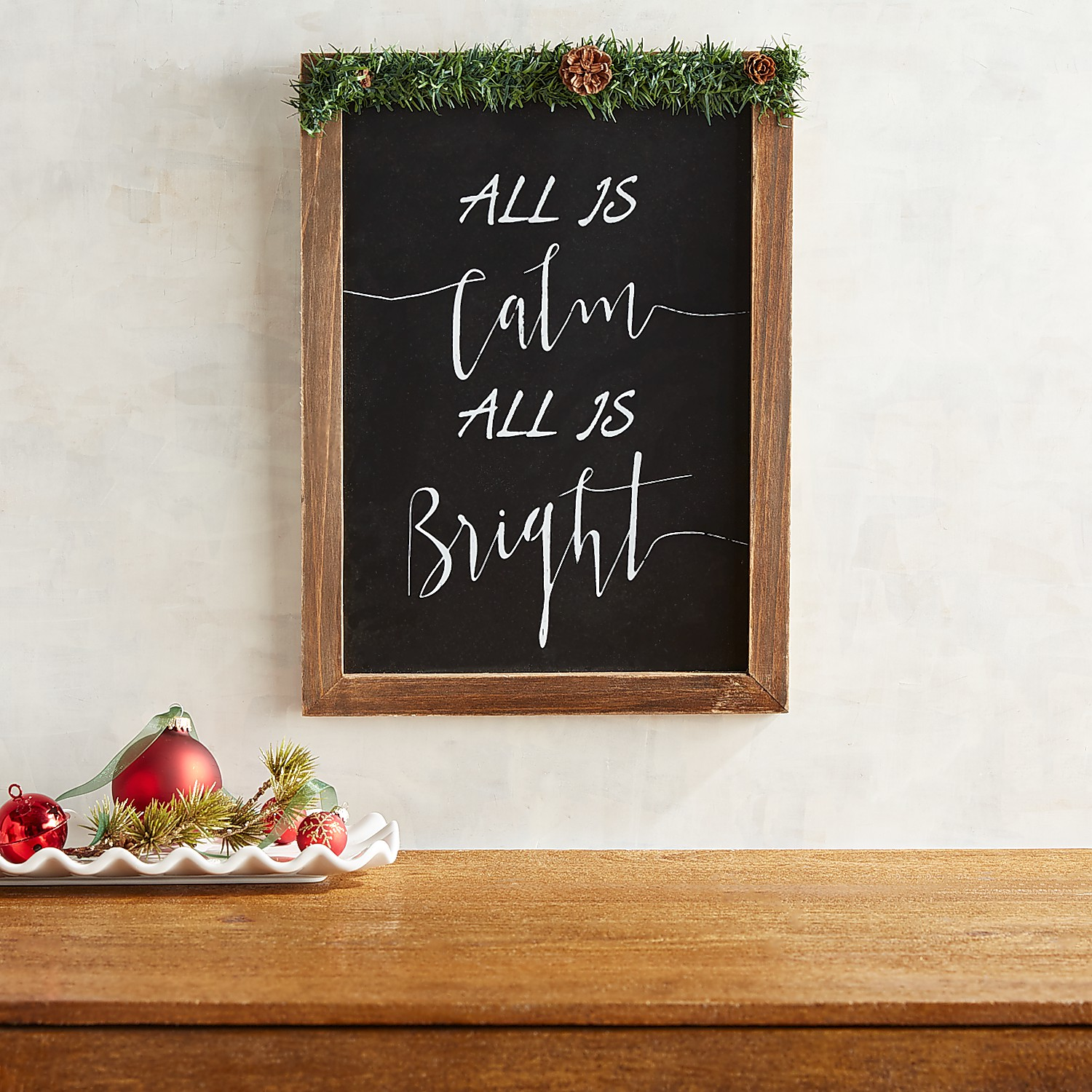 All is Calm Wall Decor