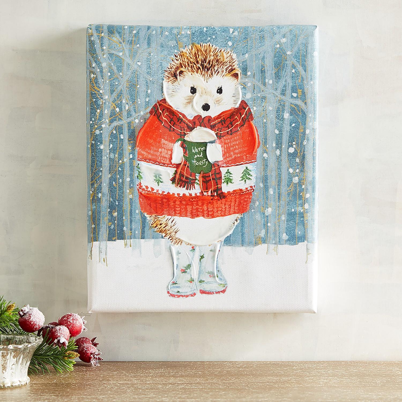 Hedgehog Sweater Small Art