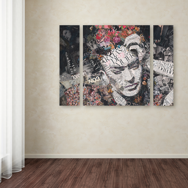 Ines Kouidis 'Armas de Mujer' Large Multi Panel Wall Art Set