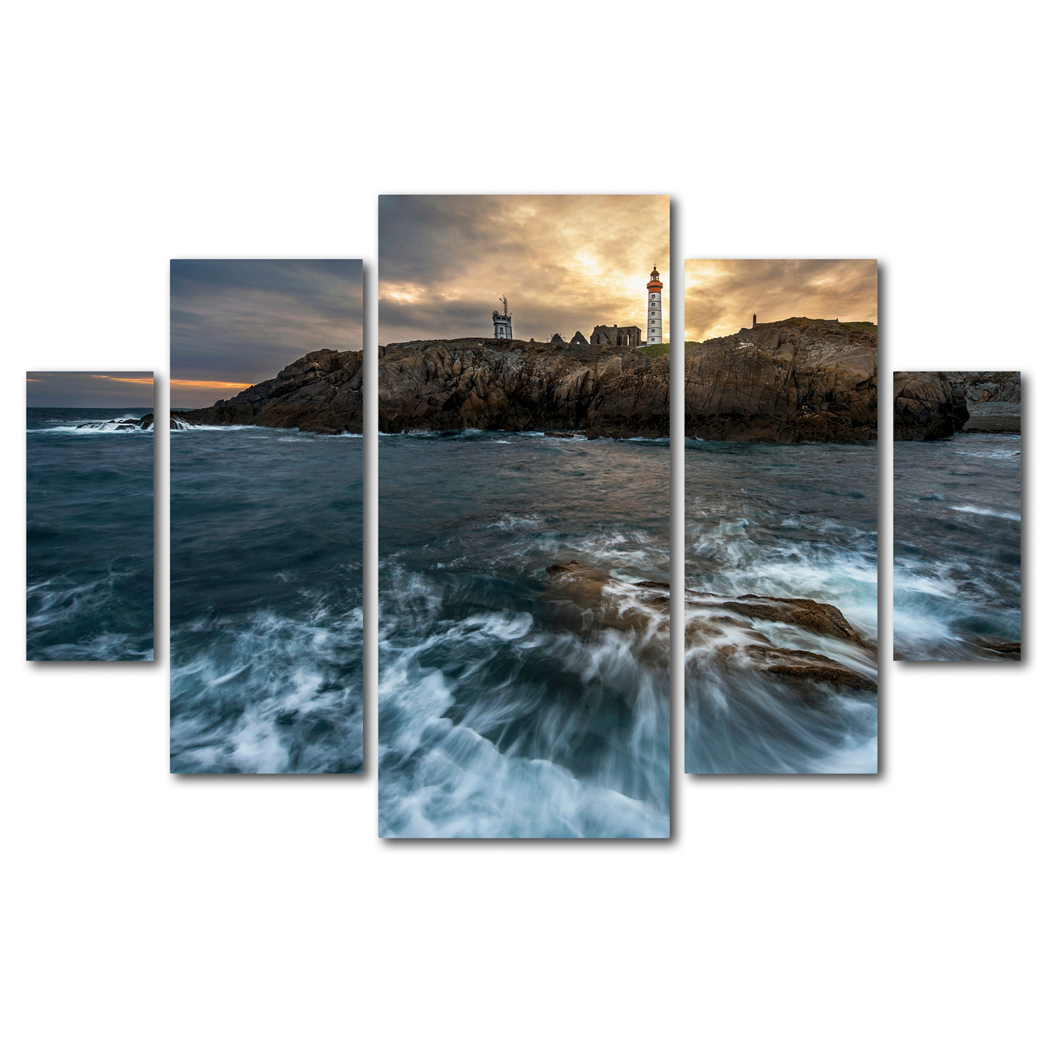 The Lighthouse Wall Art Set of 5