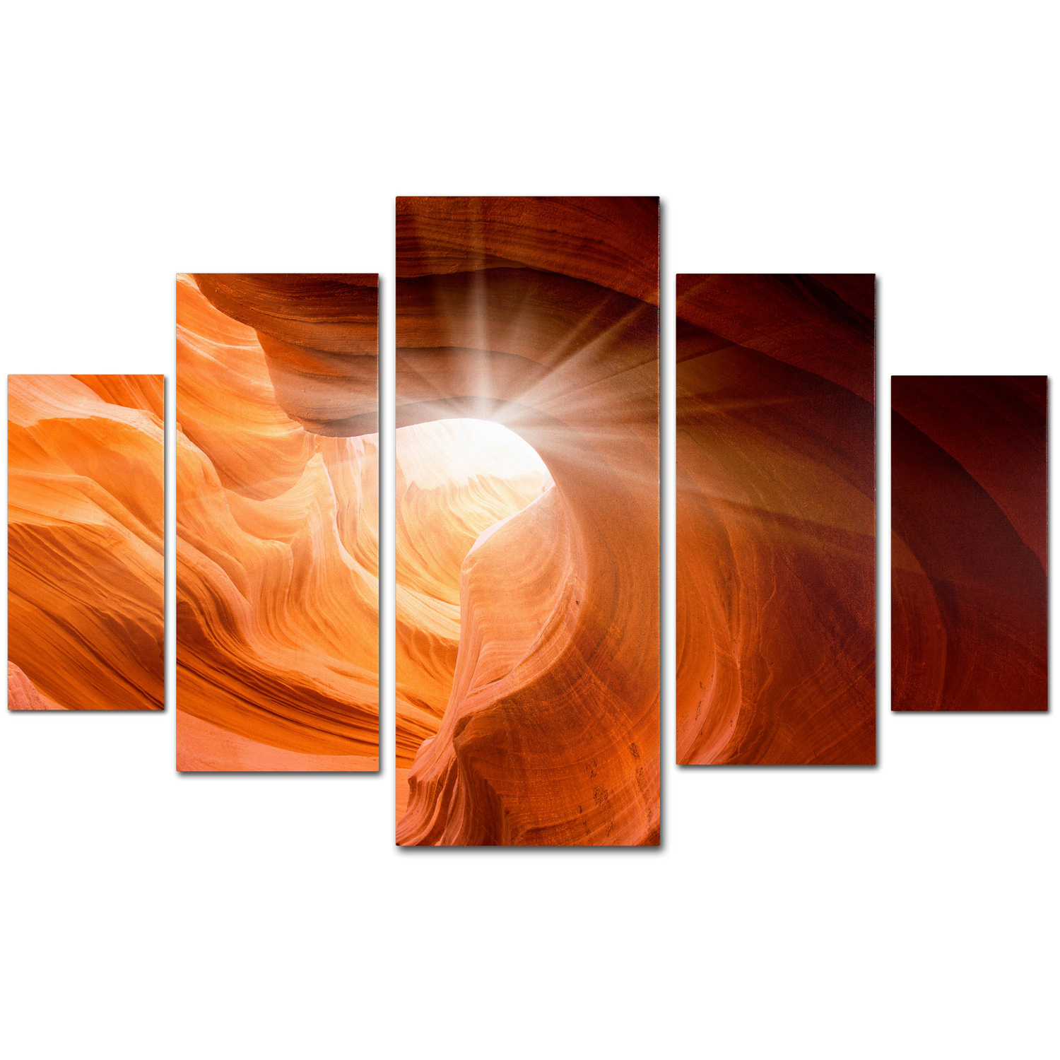 variation thumbnail of Moises Levy 'Smooth II' Multi Panel Wall Art Set