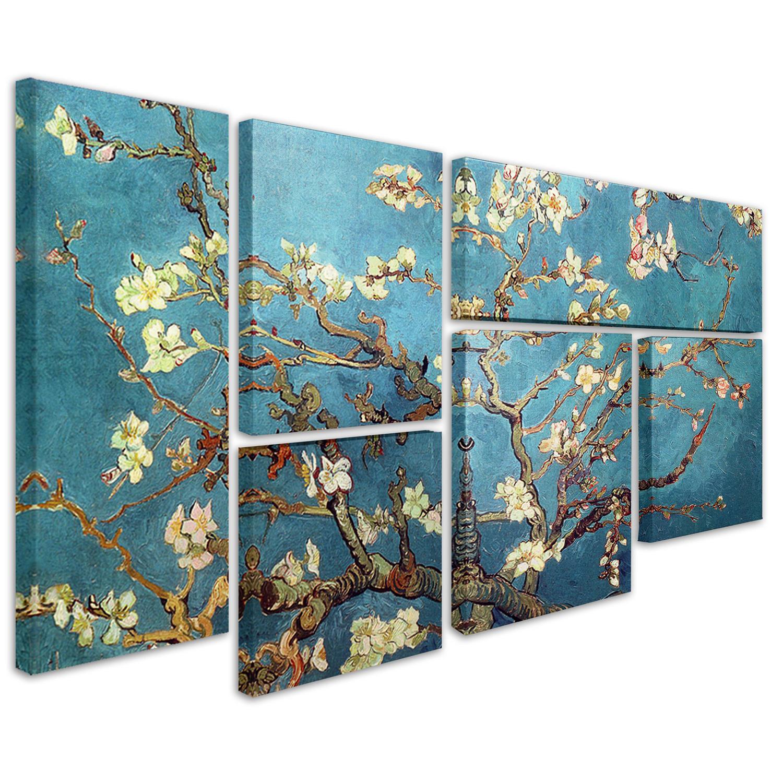 Vincent van Gogh 'Almond Blossoms' Multi Panel Wall Art Set