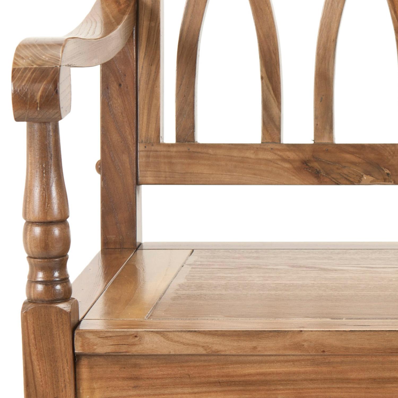 Mariel Oak Bench