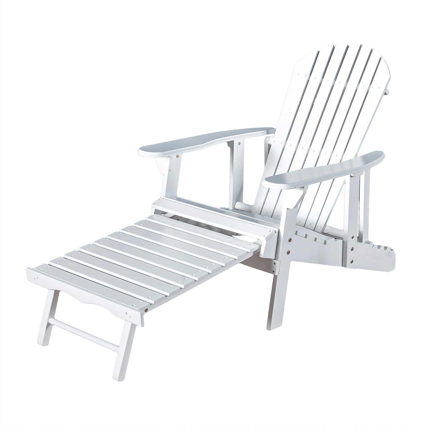 variation thumbnail of Hailey White Reclining Adirondack Chair