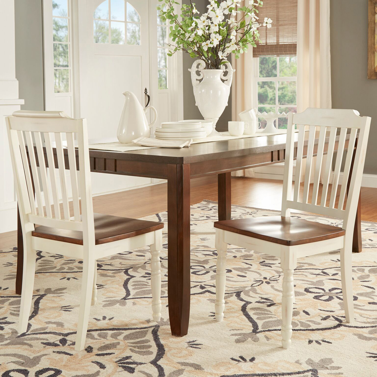 Antique White Dining Chairs Set of 2 - Pier1 Imports