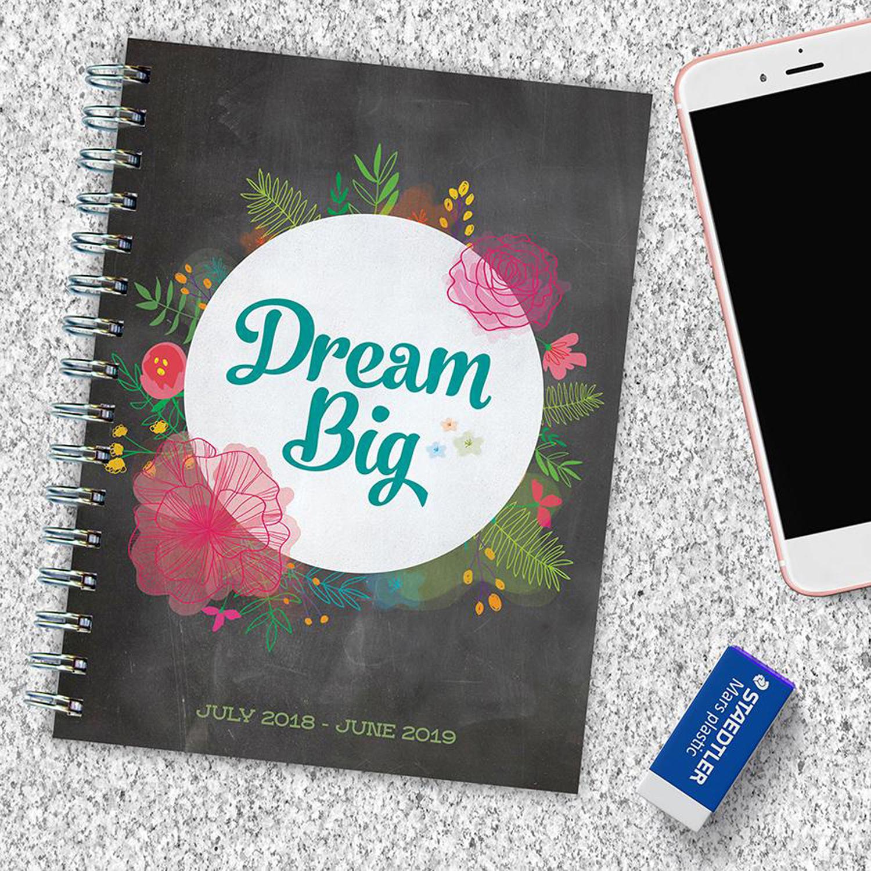 Dream Big Medium Weekly Monthly Planner
