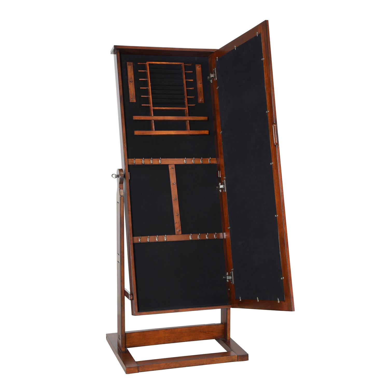 Cheval Walnut Jewelry Armoire - Pier1 Imports
