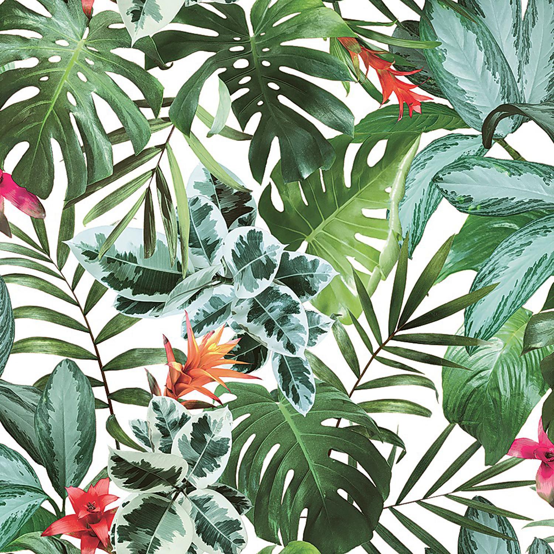 Tempaper® Rainforest Self-Adhesive Wallpaper