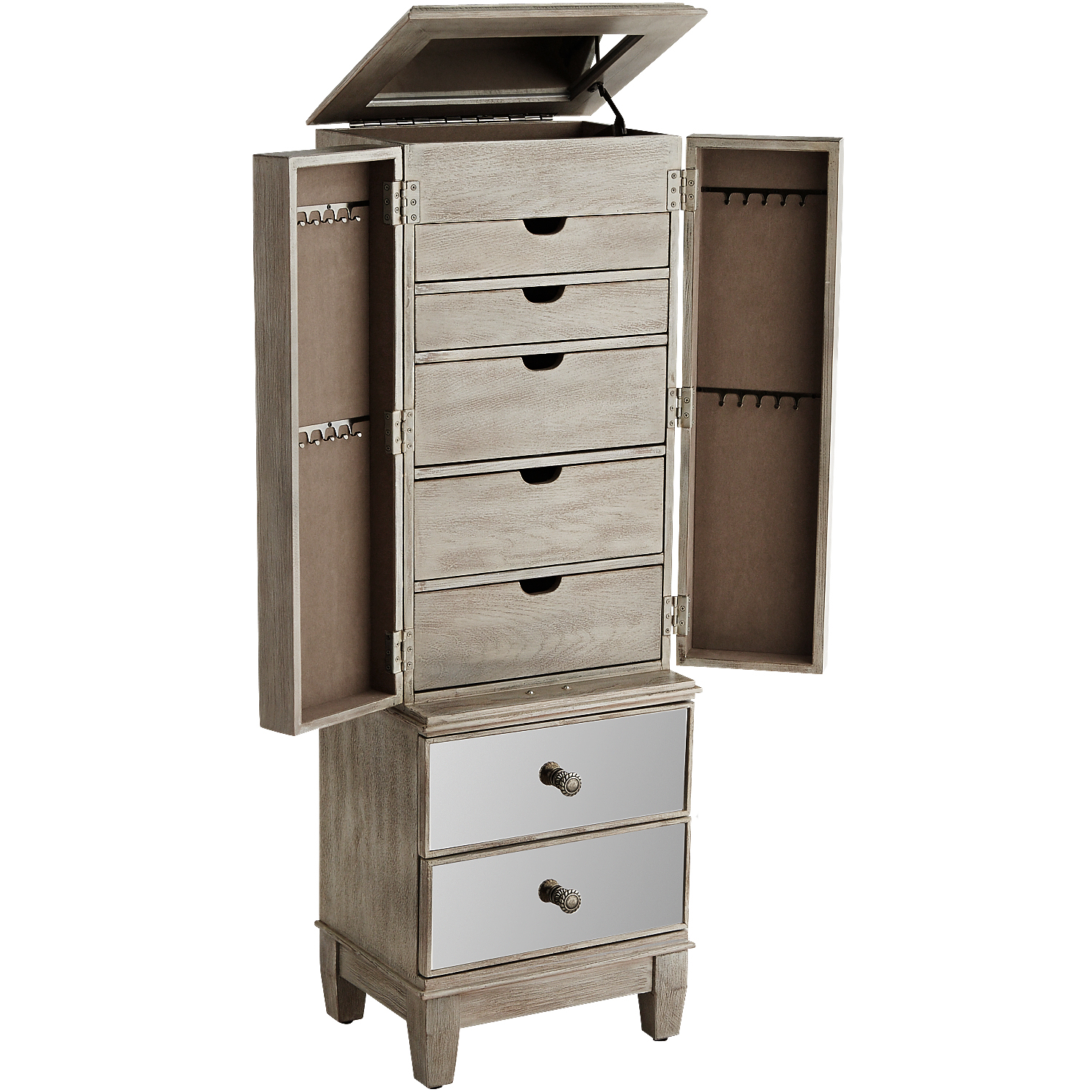 Hayworth Mirrored Jewelry Armoire - Pier1 Imports