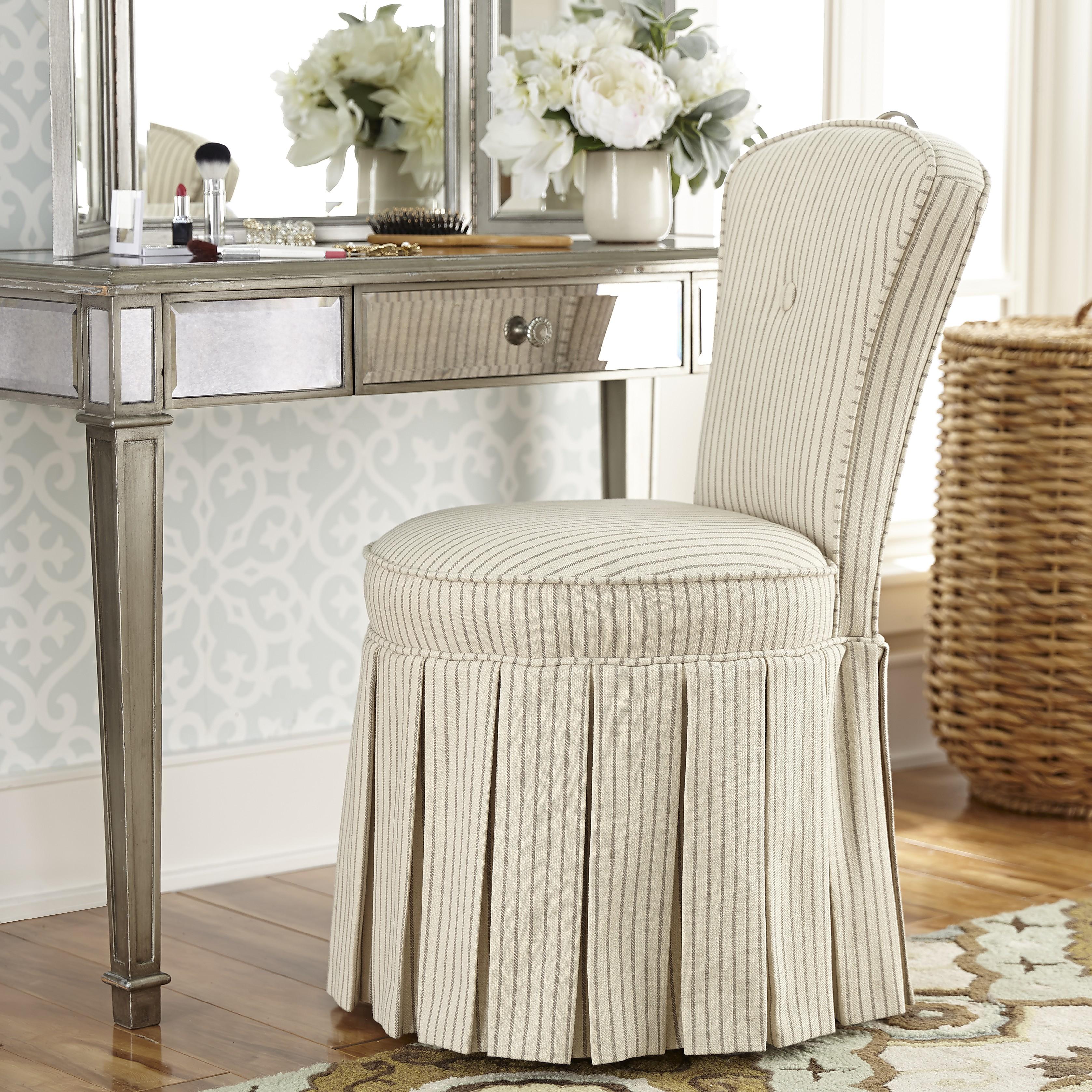 Reese Skirted Vanity Chair