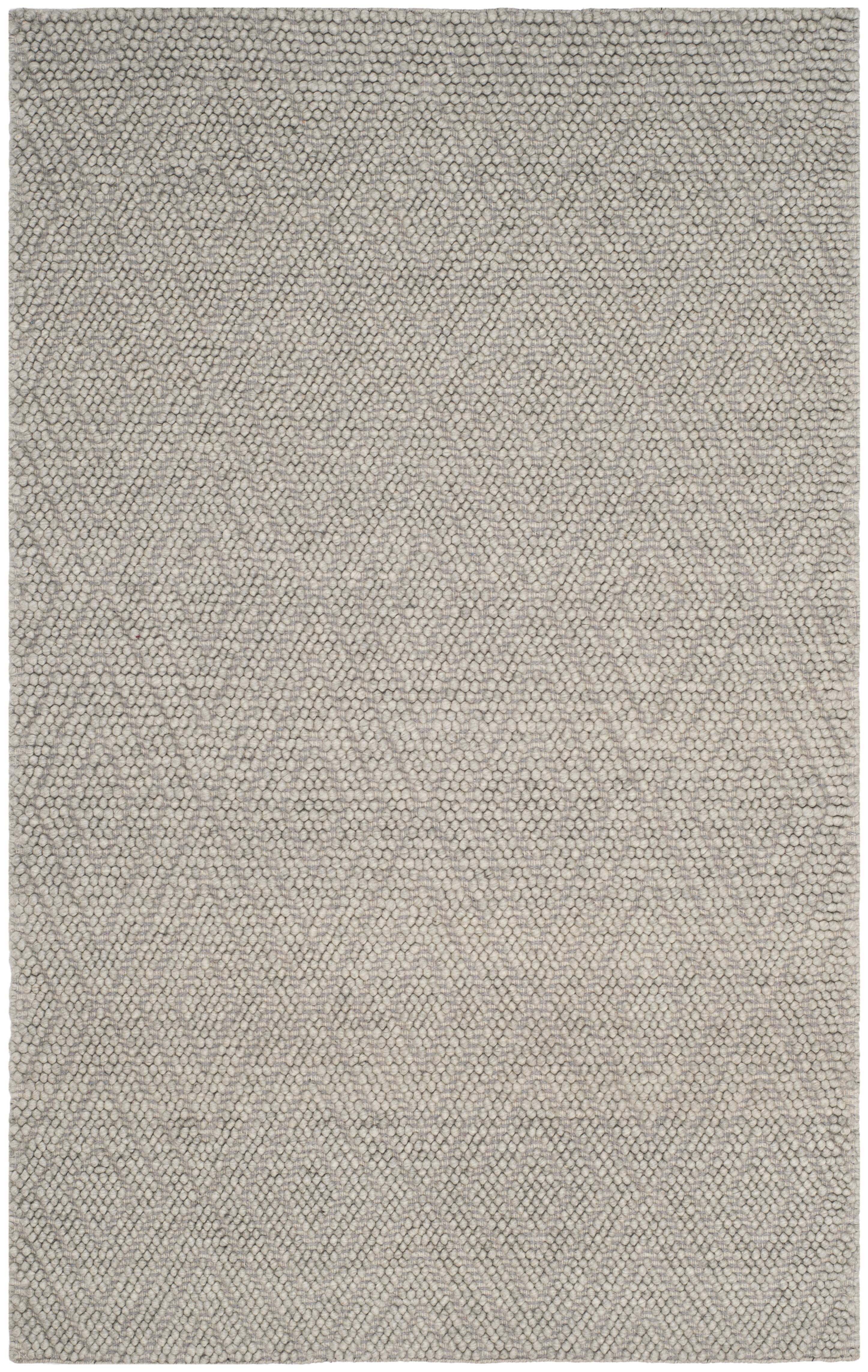 Chipley 623 5' X 8' Silver Wool Rug