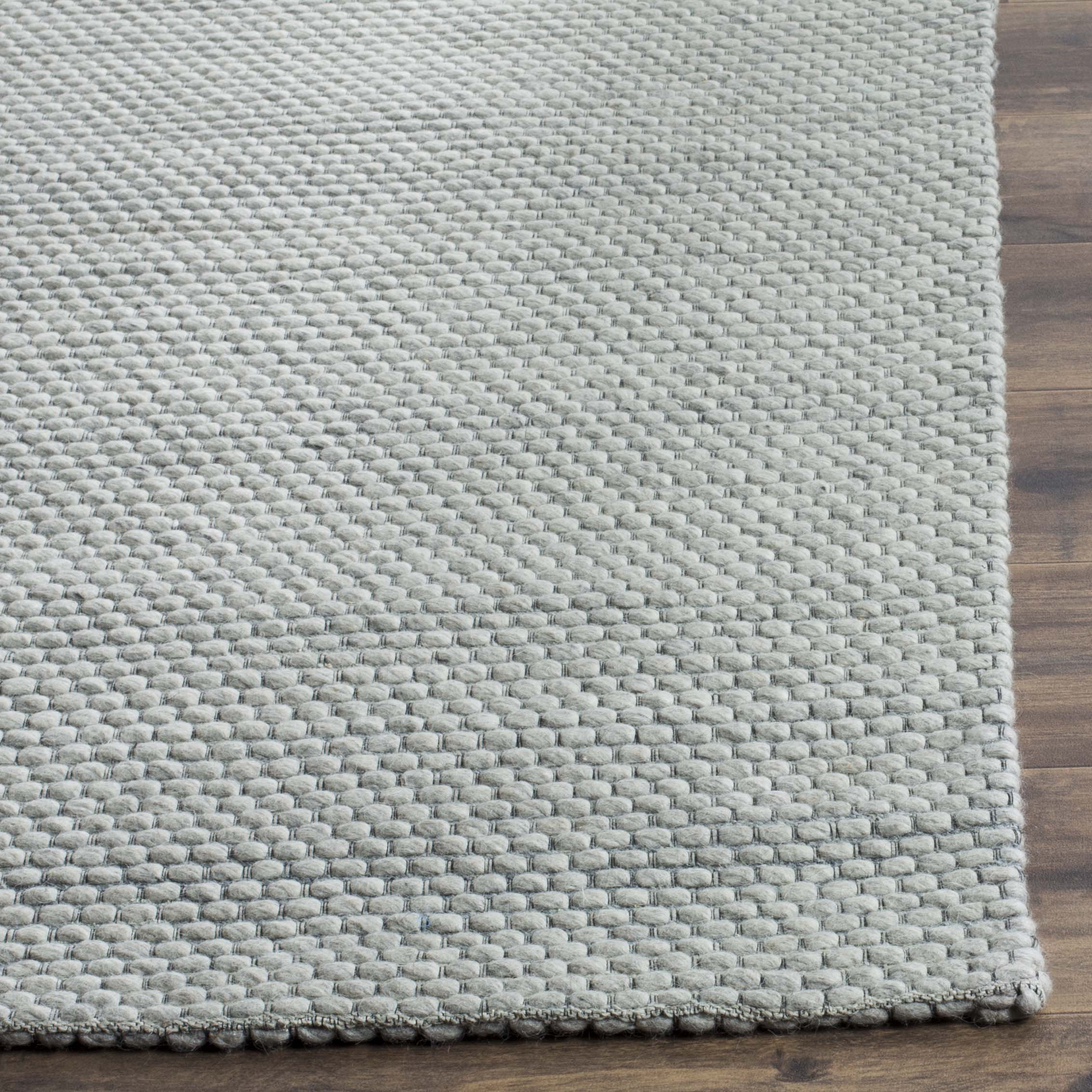 Chipley 801 6' X 6' Square Gray Wool Rug