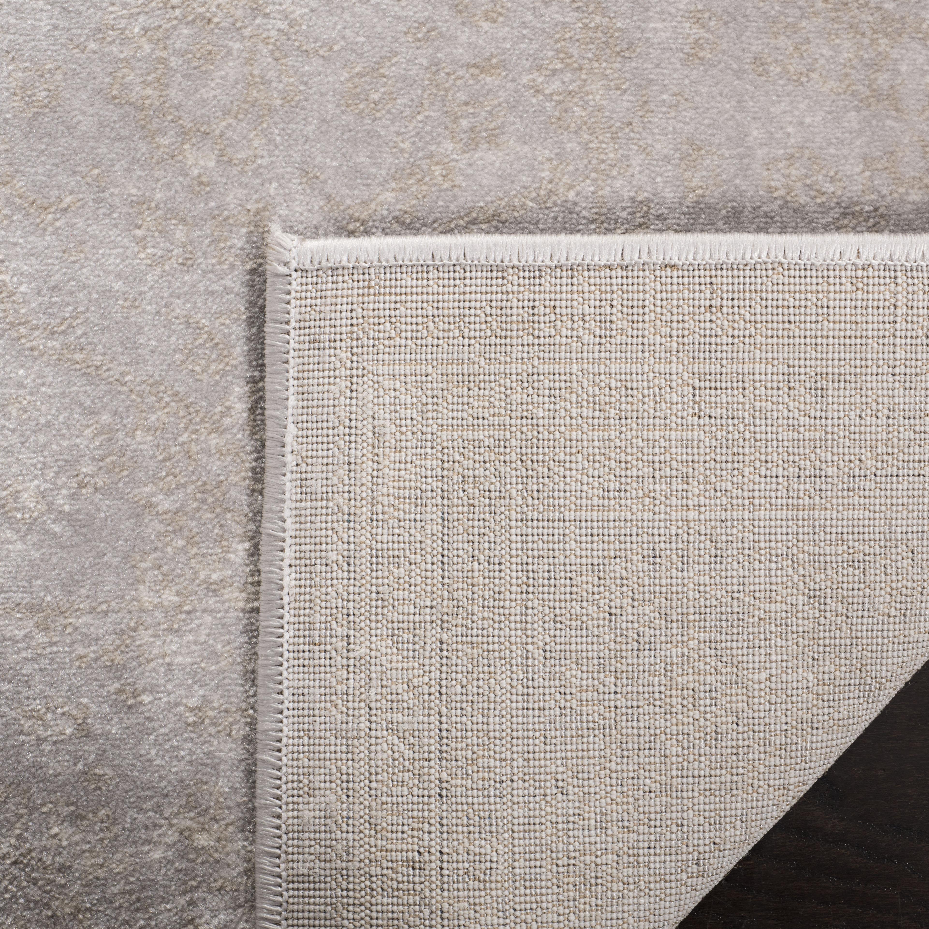 Devlin 691 9' X 12' Gray Polypropylene Rug