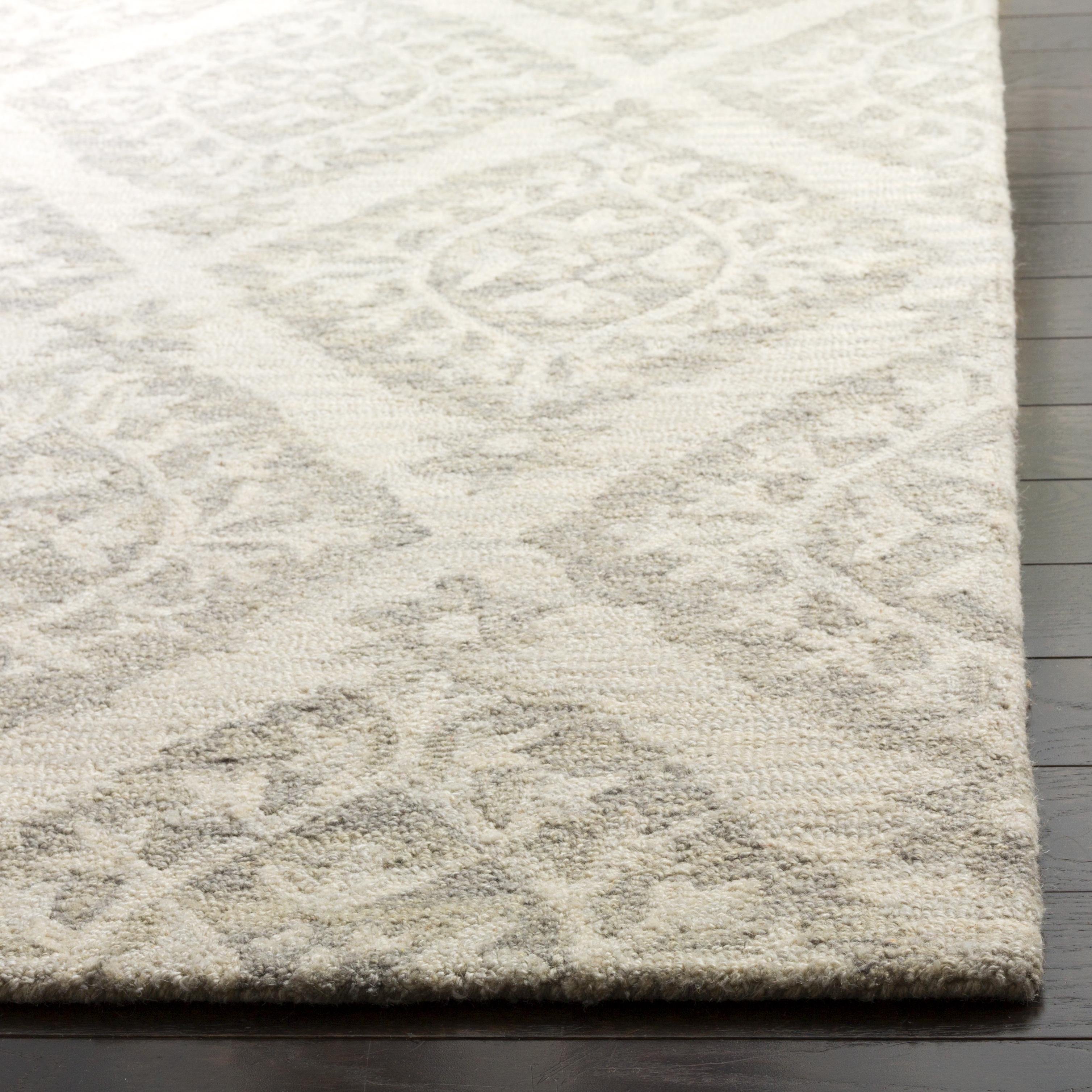 Essence 210 8' X 10' Gray Wool Rug