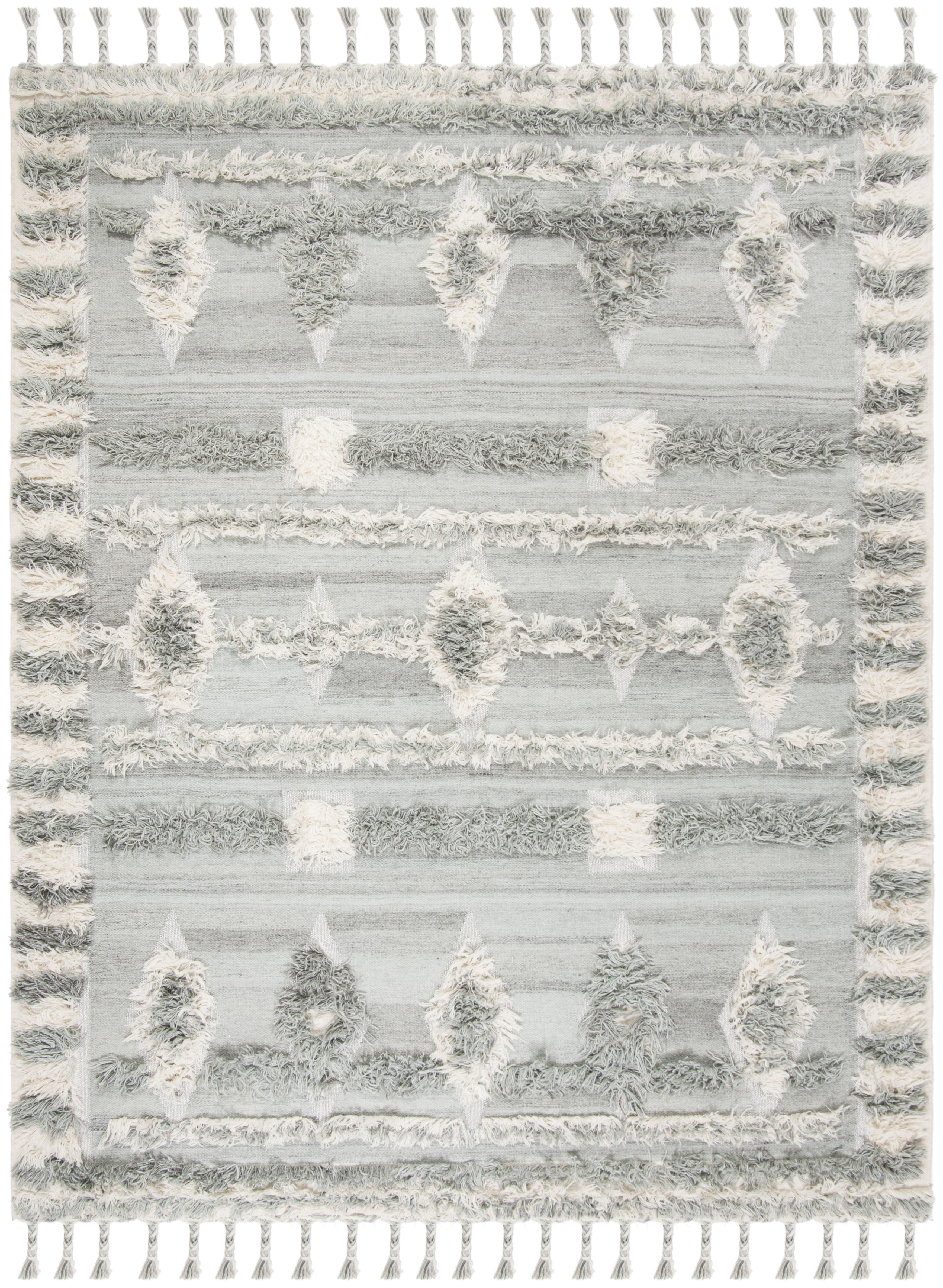 Gypsy 601 9' X 12' Gray Wool Rug