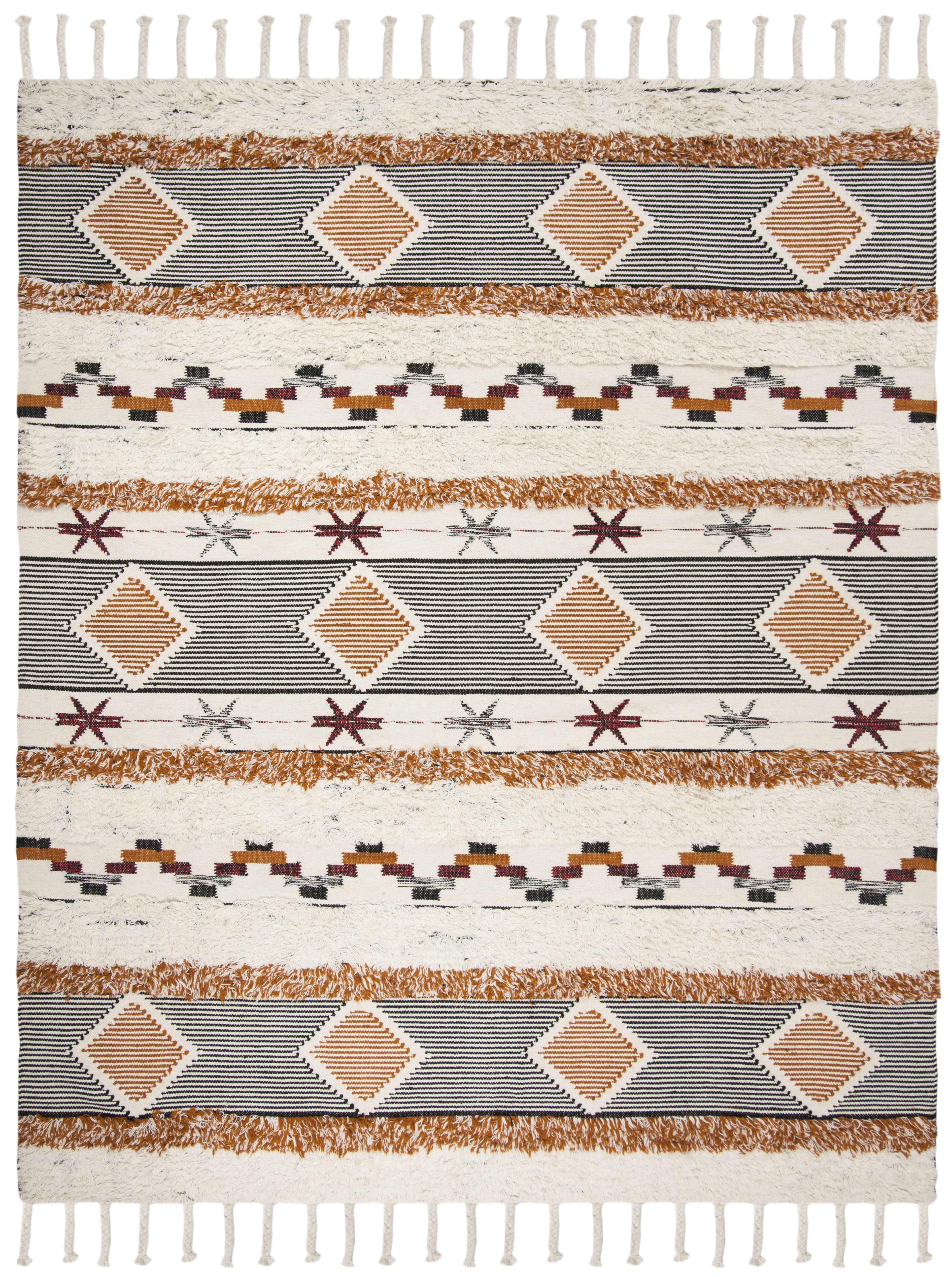 Gypsy 904 8' X 10' Ivory Wool Rug
