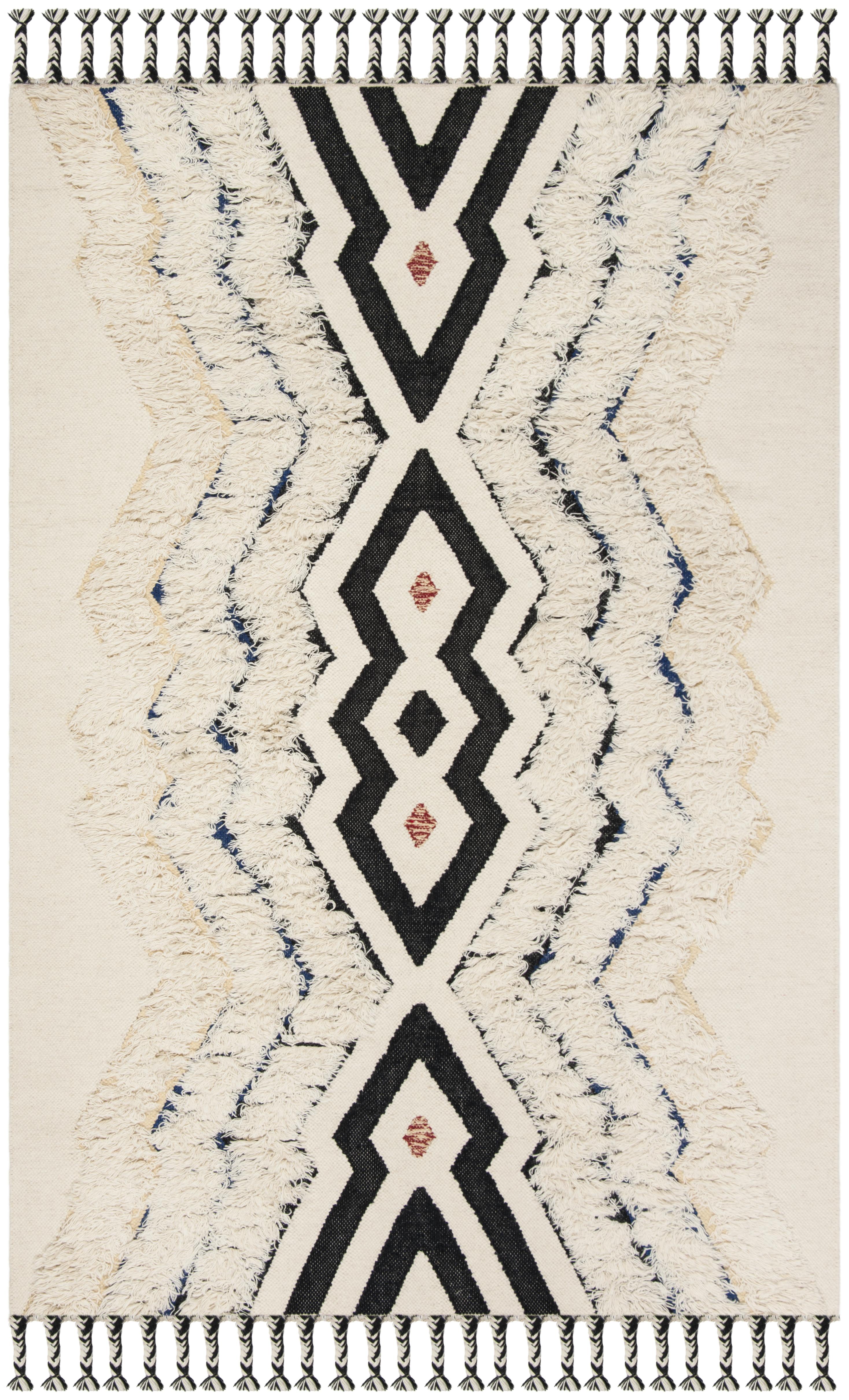 Gypsy 905 3' X 5' Ivory Wool Rug