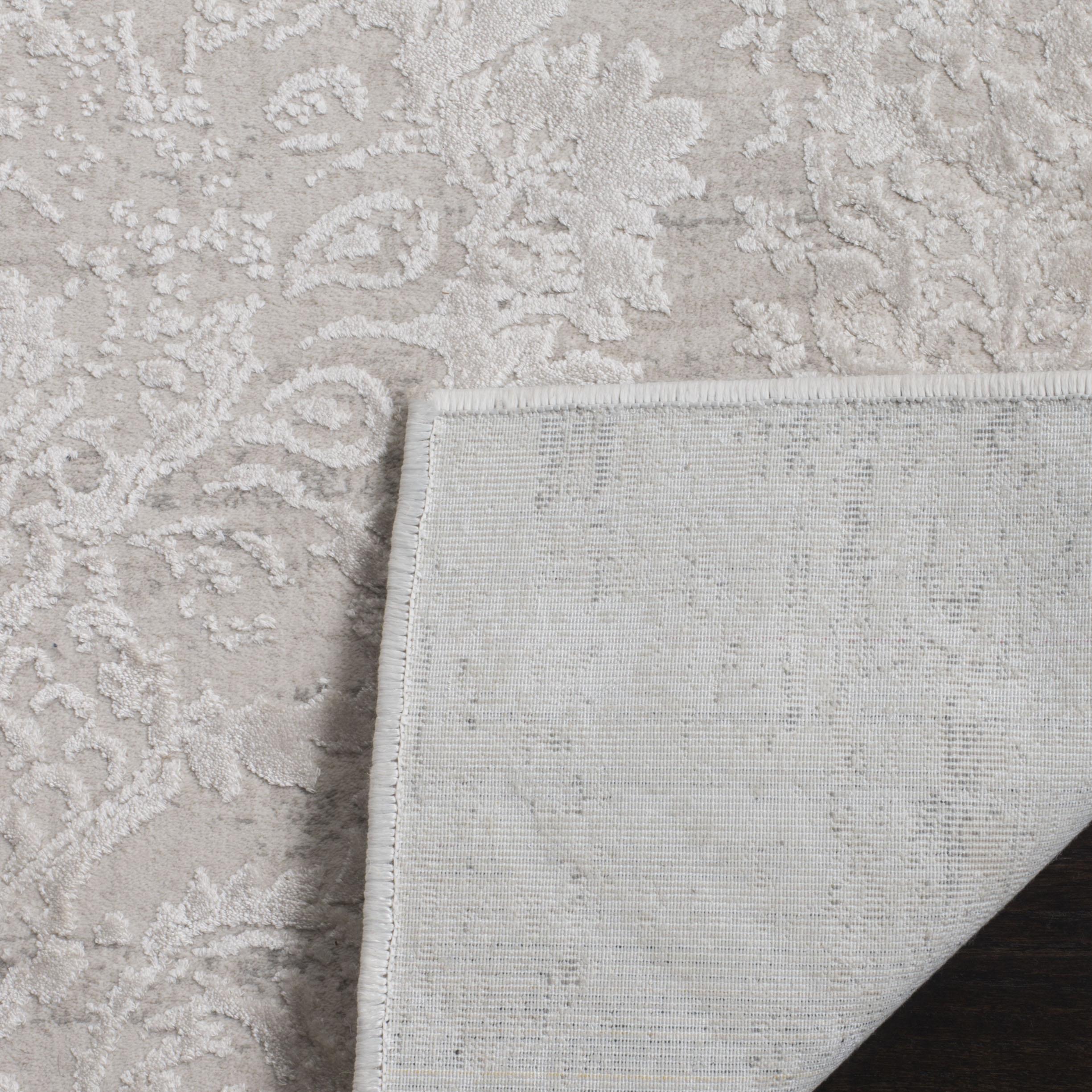 Haden 717 8' X 10' Silver Polyester Rug