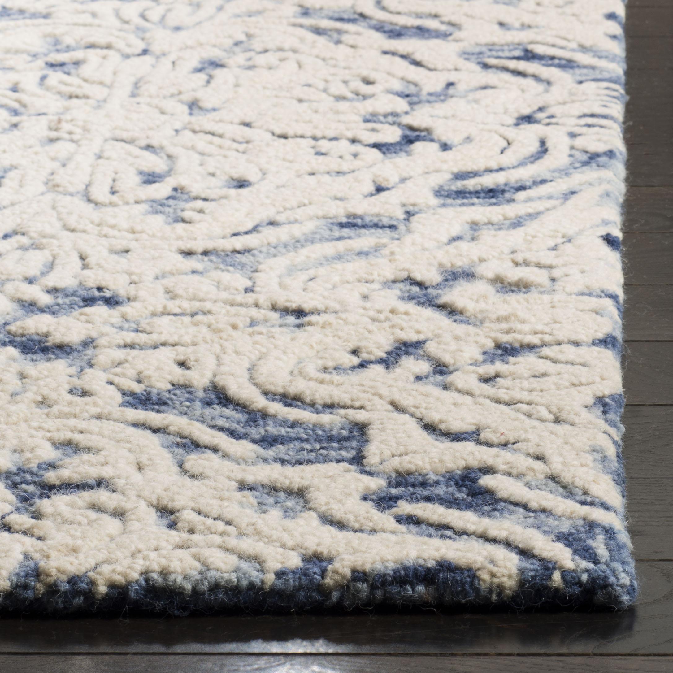 Morgan 103 9' X 12' Blue Rug