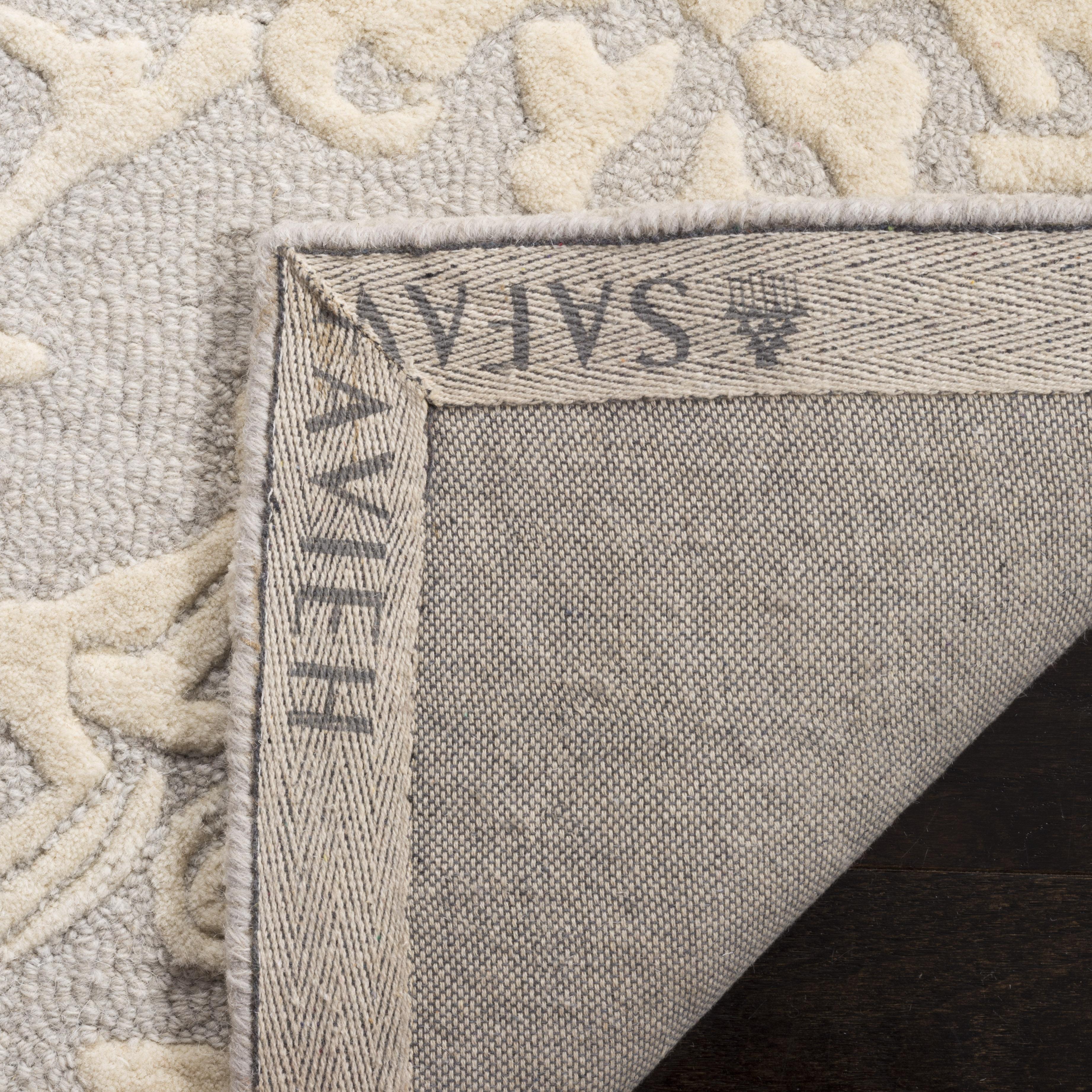 Morgan 107 8' X 10' Gray Wool Rug