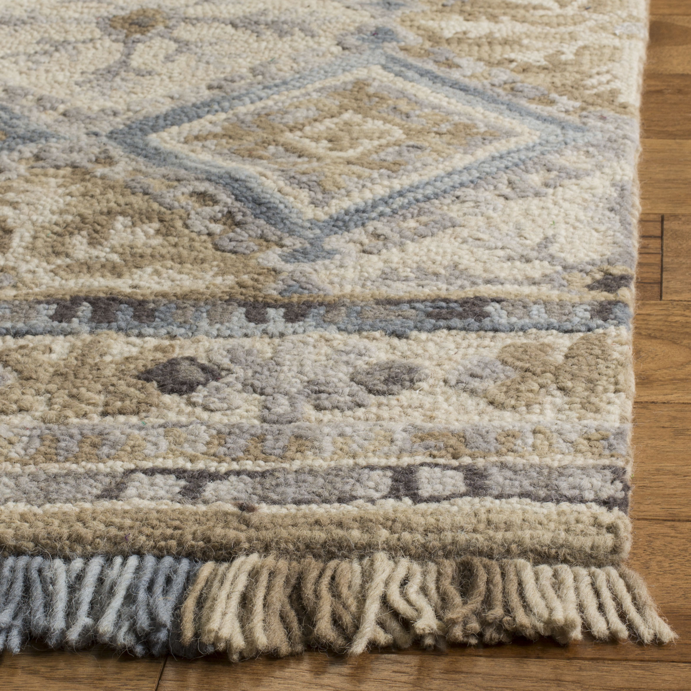 Morgan 421 4' X 6' Tan Wool Rug
