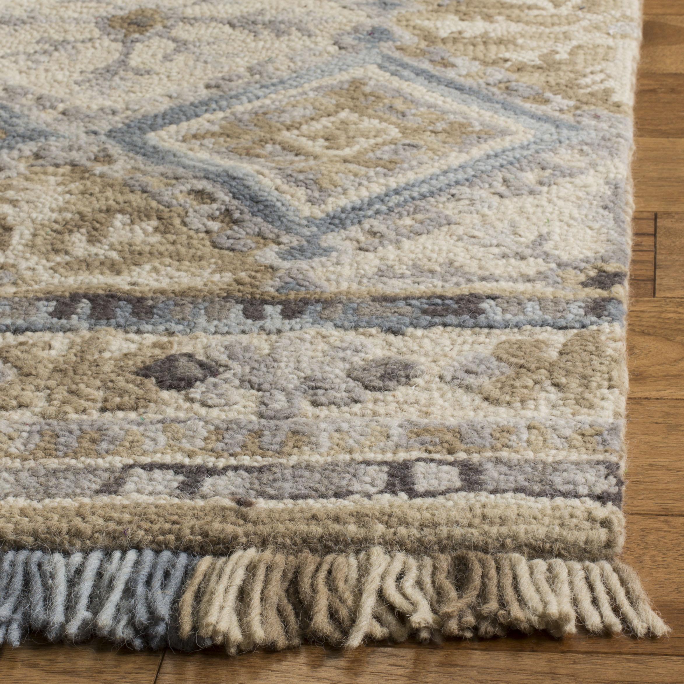 Morgan 421 5' X 8' Tan Wool Rug