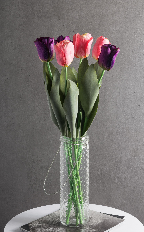 Flower Tulip Pink (Set of 4)