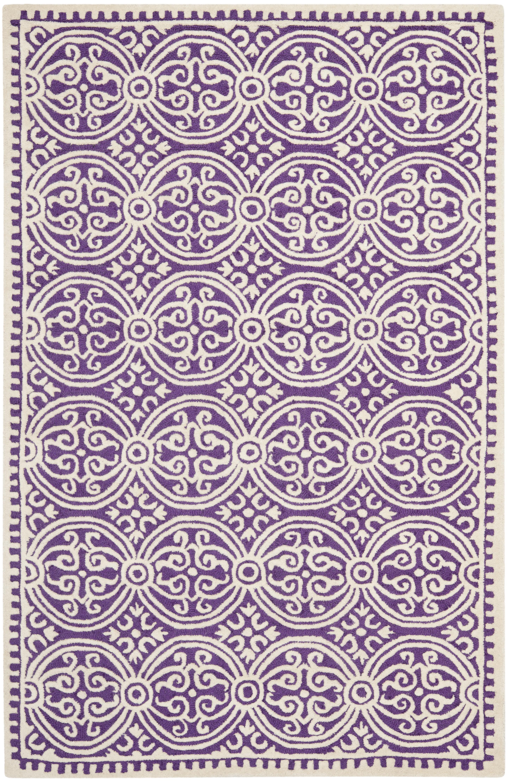 Benson 123 5' X 8' Purple Rug