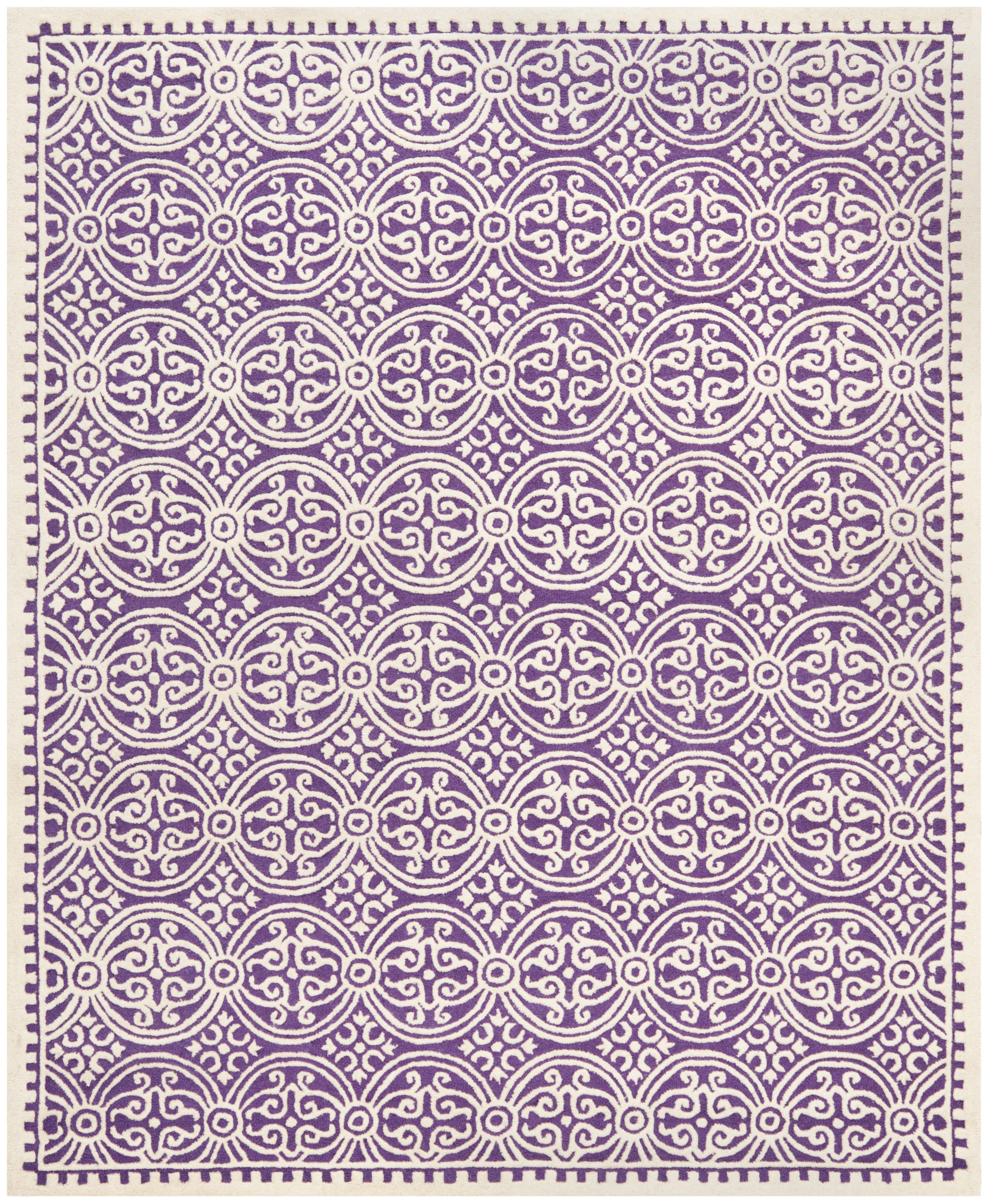 Benson 123 8' X 10' Purple Rug