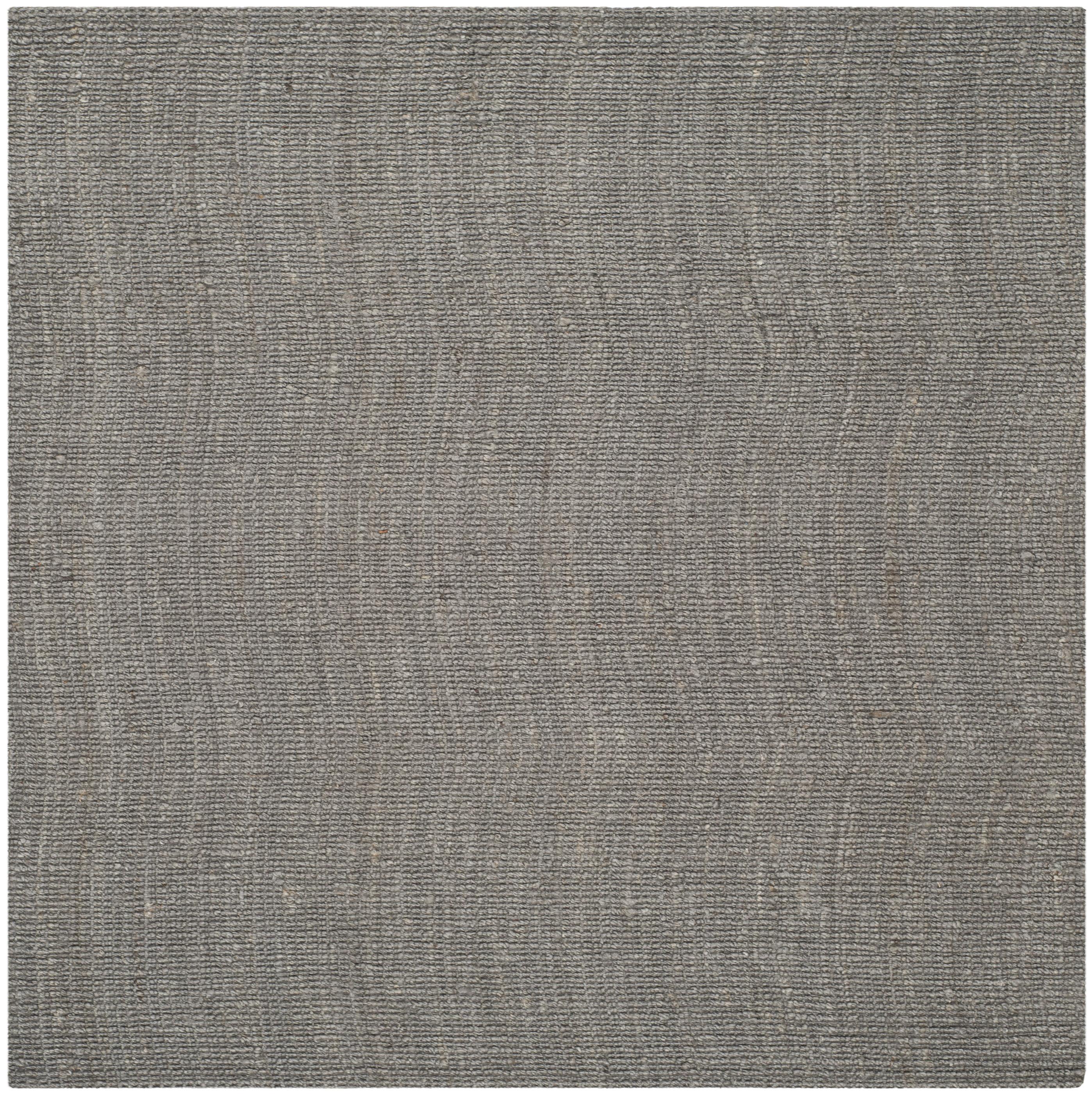 Danford 447 4' X 4' Square Gray Jute Rug