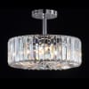 Chrome Modern Crystal Pendant Light