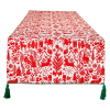 Christmas Woods Embellished Table Runner 14x72