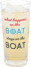 Happens on the Boat - Tritan Highball Glass