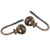 Holdback Pair - Antique Brass