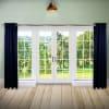 Room Darkening Curtain 96 inch Height - 1 Panel - Size: 96Wx96H - Dark Blue