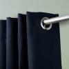 Room Darkening Curtain 108 inch Height - 1 Panel - Size: 96Wx108H - Dark Blue