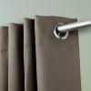 Room Darkening Curtain 96 inch Height - 1 Panel - Size: 96Wx96H - Light Grey