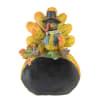 Autumn Harvest Thanksgiving Turkey Chalkboard Decorative Table Top Figurine