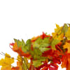 Yellow and Orange Foliage Fall Harvest Artificial Wreath - Unlit