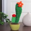 Mixed Plush Cactus Plant in Faux Ceramic Pot