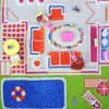 Beach Houses 3D Kids Play Rug 3' x 5'