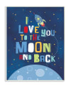 Outer Space Love Wall Plaque Art